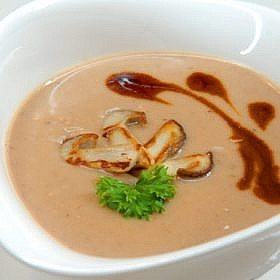 Soup from chestnuts